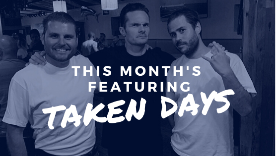 Happy 2020 Newsletter- featuring Taken Days!